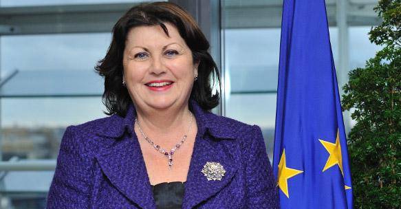 Commissoner Máire Geoghegan-Quinn