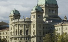 The Swiss Federal Palace in Bern, Switzerland