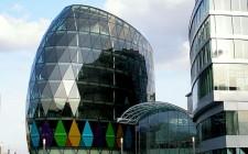 Business and shopping centre in Eurovea in Bratislava, Slovakia