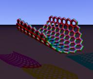 Carbon nanorim chiral povray