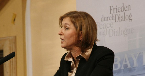 Tzipi Livni during a previous event in Germany
