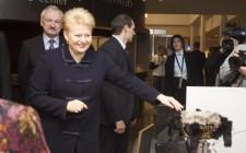 Dalia Grybauskaitė at the Vilnius Innovation Forum