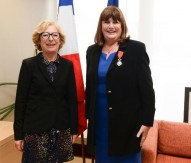 MGQ receives top French honour