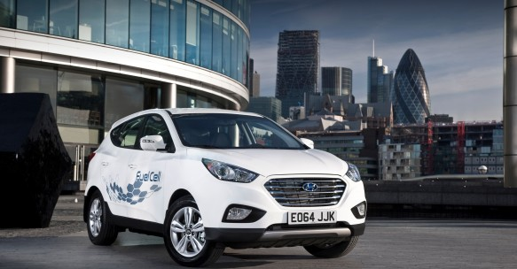 Hyundai offers UK's first hydrogen fuel cell vehicle