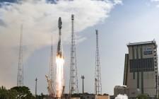 Galileo Soyuz VS13 liftoff